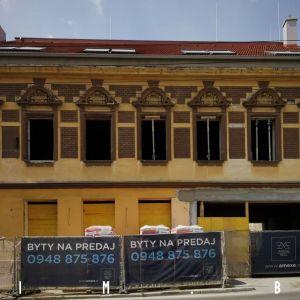 Karpatská 9 od ulice