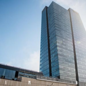 Nivy Tower. Fotografia z 6.6.2020. Autor: Martin Srnák