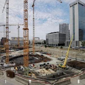 Výstavba Eurovey, 15.8.2020
