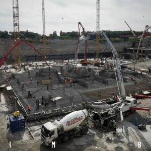 Eurovea Tower má vybetónované základy a čoskoro začne rásť