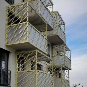 Konštrukcie balkonov budú obrastené zeleňou
