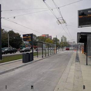 Prestupná zastávka na Riviére