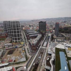 Výhľady z Nivy Tower, november 2020