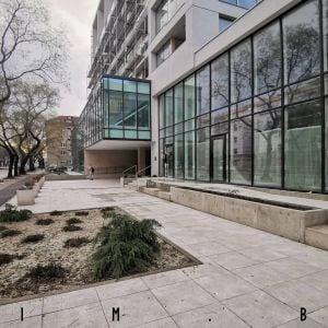 Obnovený verejný priestor pred Strediskom kultúry