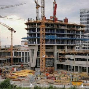 Na Eurovea Tower už vznikajú štandardné podlažia