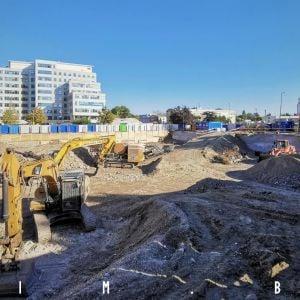 Príprava výstavby projektu The Mill, 25.9.2021