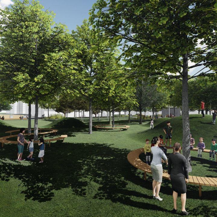 Revitalizácia Šrobárovho námestia