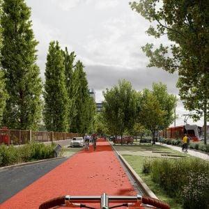 Podoba priestoru v budúcnosti. Zdroj: Metropolitný inštitút Bratislavy