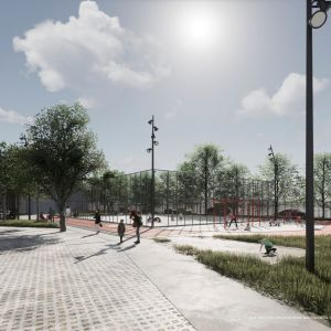 Nový školský areál na Vazovovej. Zdroj: 2021