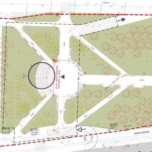 Situácia pôvodného projektu. Zdroj: Parking House