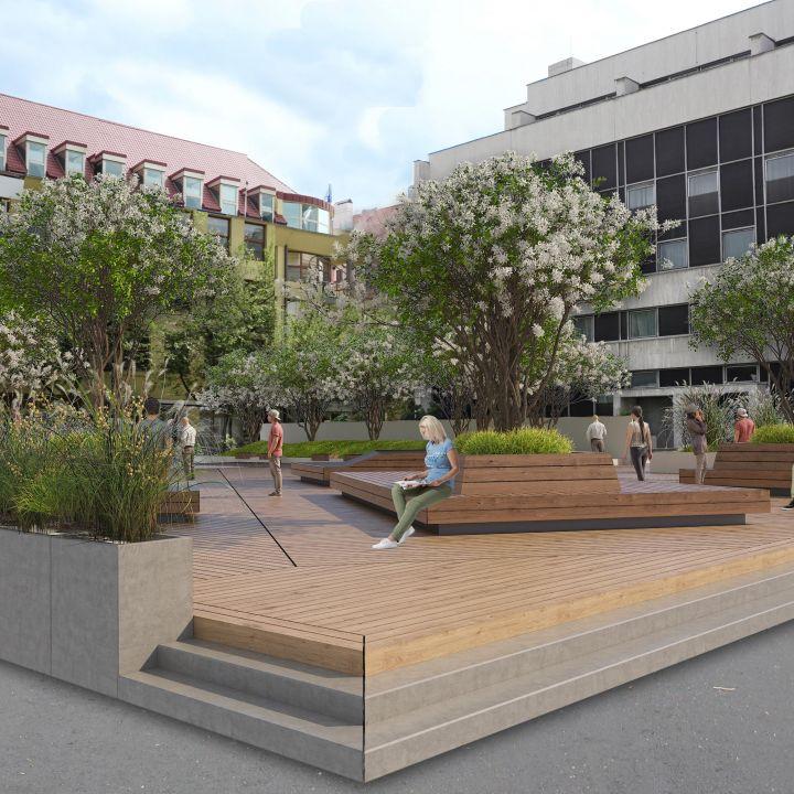 Komenského námestie - revitalizácia