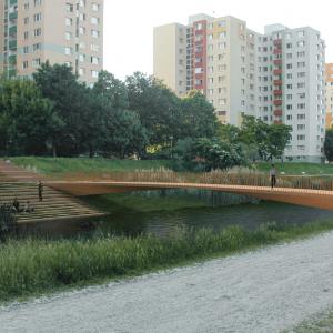 Lávka č. 3. Zdroj: Metropolitný inštitút Bratislavy