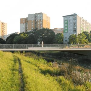 Lávka č. 2. Zdroj: Metropolitný inštitút Bratislavy