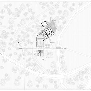 Situácia. Zdroj: Kuklica Smerek Architekti + Juraj Hubinský