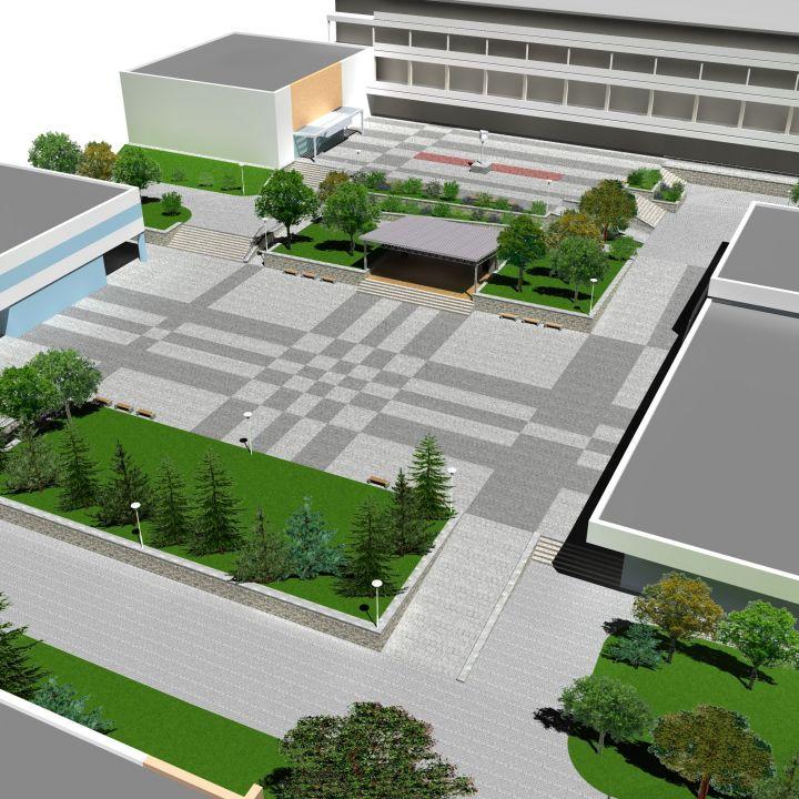 Malokarpatské námestie - rekonštrukcia