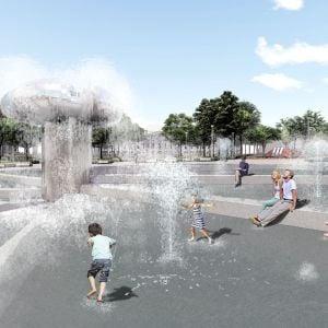 Nová podoba fontány Družba. Zdroj: 2021 + LABAK