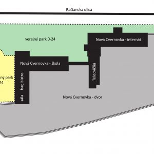 Rozčlenenie na zóny. Zdroj: 2021 + LABAK