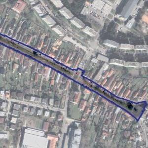 Riešené územie Vrančovičovej. Zdroj: Metropolitný inštitút Bratislavy