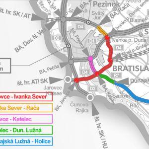 Zdroj: Obchvat Bratislavy