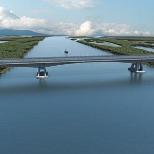 Aktuálne platný vzhľad mosta. Zdroj: Združenie Obchvat Nula