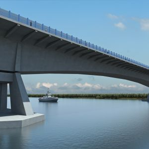 Most cez Dunaj.  Zdroj: Združenie Obchvat Nula