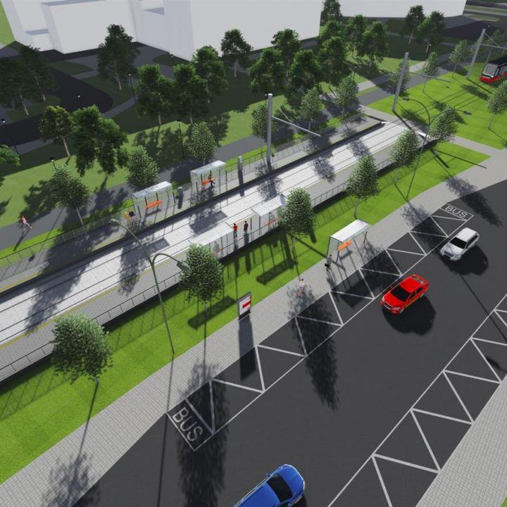 Nosný systém Mestskej hromadnej dopravy, II. etapa