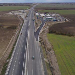 R7 v úseku Dunajská Lužná - Holice. Výstavba odpočívadla Blatná na Ostrove. Zdroj: Združenie Obchvat Nula
