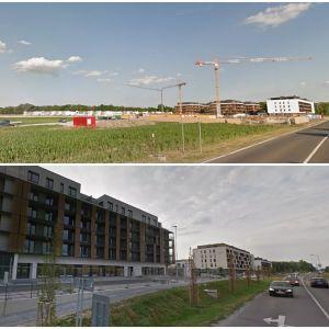 Slnečnice - Viladomy. Zdroj: Google StreetView