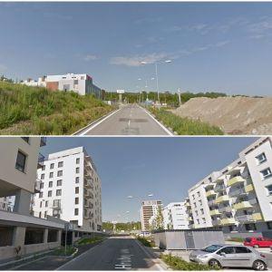 Ulica Pri Hrubej lúke v Dúbravke. Zdroj: Google StreetView