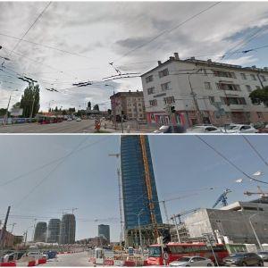 Nivy Tower, najvyššia budova Slovenska. Zdroj: Google StreetView