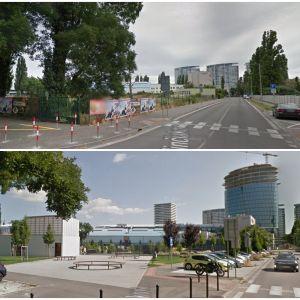 Park Jama v Novom Meste. Zdroj: Google StreetView