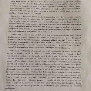 Metodické usmernenie MDaVSR, ktoré upozorňuje, že Magistrát nemá vydávať záväzné stanoviská. Zdroj: Archív autora