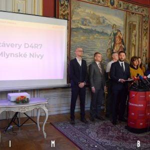 Tlačová konferencia na pôde Magistrátu Hlavného mesta SR Bratislava