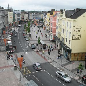Nákupná ulica v Corku. Zdroj: J&T Real Estate