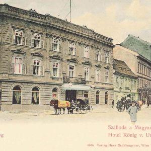 Pôvodný vzhľad budovy, zdroj: Fortepan.hu