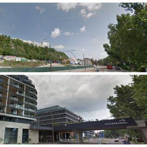 Ďalšia z radikálnych zmien - projekt Zuckermandel od JTRE vrátil mestskú štruktúru na miesto, kde v druhej polovici 20. storočia zanikla. Premena nábrežia bude pokračovať dobudovaním Vydrice a zástavbou západne od komplexu River Park.