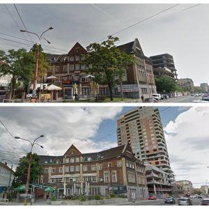 Najkontroverznejším projektom je výšková budova Première na Šancovej ulici, v tesnom dotyku so vzácnou budovou organizácie YMCA. Developerom je FINEP.