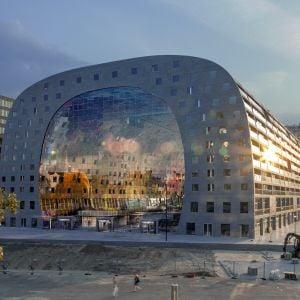 Tržnica v Rotterdame. Zdroj: ArchDaily