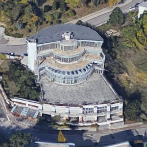Rotunda na Slavíne. Zdroj: Google