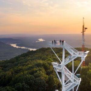 Rozhľadňa na Devínskej Kobyle sa stala novou atrakciou Bratislavy