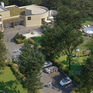 Predstava investora o premene areálu Pohoda Parku. Zdroj: MURMAN Group