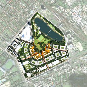 Súťažný návrh Pasienkov z roku 2010. Zdroj: Compass Architekti